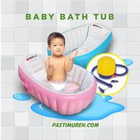 intime baby bath tub bak mandi bayi bonus pompa
