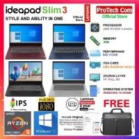 LAPTOP LENOVO IDEAPAD SLIM 3 - AMD RYZEN 5-4500U 8GB 512GB 14 FHD W10