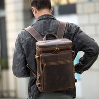 Tas Ransel Pria Crazy Horse Leather Prime Quality - HAWLEY By Napoleon