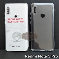 Case Redmi Note 5 PRO PREMIUM CLEAR SOFT CASE Bening Transparan Casing