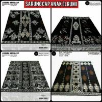 sarung batik anak-anak/sarung cap batik modern/sarung batik el rumi A1