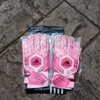 Sarung Tangan Kiper Tulang Anak Adidas-2 (Pink/White)