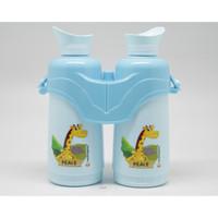 Botol Minum TEROPONG 800ml Binocool Twin Bottle S550.NEJT Botol Anak