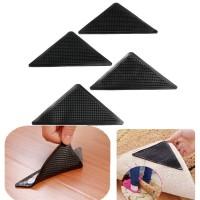 Karet Segitiga Grip Anti Slip untuk Karpet 1 Pcs CWC553 Bawah Keset