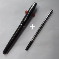 BALPEN / PULPEN MODEL PARKER LACQUE BLACK PLUS SATU TINTA