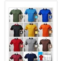 kaos Polo Shirt Polos kaos kerah pria kaos seragam