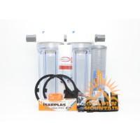 "Paket Filter Air Ledeng 10"" - GM2 SC 0.75 Clear"