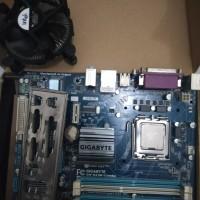 Motherboard Gigabyte G41 Rev 2.0 Combo Prosesor Core2duo E8400 3.0GHz