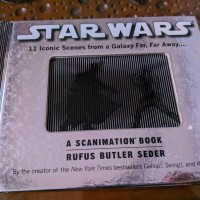 Buku Koleksi Import Star Wars: A Scanimation Book Original