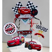 Cake Topper Cars/Hiasan Kue Cars/Cake Topper Custom