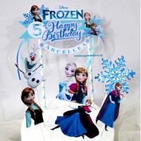 Cake Topper Frozen Anna/Hiasan Kue Anna/Cake topper Custom