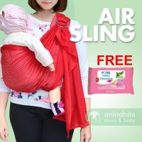 CUDDLEME AirSling | Gendongan Bayi | Gendongan Ring Sling