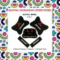 BANTAL SANDARAN LEHER MOBIL (3 IN 1) MITSUBISHI XPANDER