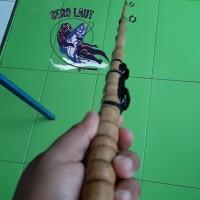 Joran Bambu cendani fiber ( Sikber ) kirisik fiber