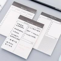 Daily Planner Sticky Note Formal Simple utk Kantor/Sekolah