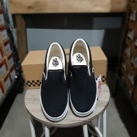 Vans Slip On Black White Japan Market - Putih