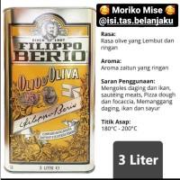 filippo berio extra light 3 L / filipo berio olive oil / pure olive