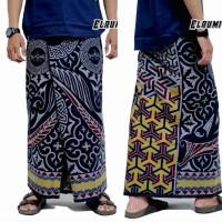 sarung tulis batik elrumi lukis batik cap mahda sarung muslim pria