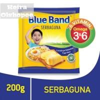 Mentega Margarin Blue Band Serbaguna 200 gram