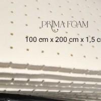 Busa Latex Premium Topper Kasur,sofaJok Motor,Mobil,100x200x1.5cm