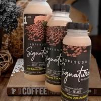 PROMO Kopi Susu Gula Aren 1 Liter by EJ Coffee Grab / Gojek only
