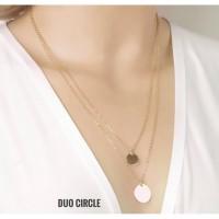 Kalung Korea Panjang Gold Aksesoris Fashion Wanita