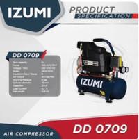 IZUMI DD 0709 Kompresor 0.75 HP 9 L Direct Air Compresor Angin Listrik