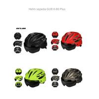 Helm Sepeda Gub K80 Plus Mantap sudah dengan goggle not rockbros
