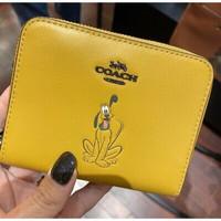 Coach wallet small disney pluto donal