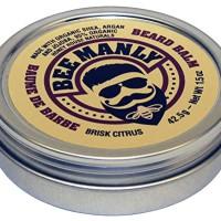 Honey House Naturals Bee Manly Beard Balm - Brisk Citrus Scent - 1.5 o