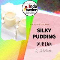 SILKY PUDDING DURIAN 1Kg - BUBUK Silky Puding 1Kg - Puding Sutra 1Kg