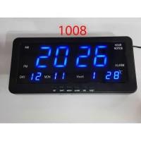 Jam Digital - Meja dan Dinding 1008 ( led biru ) / digital clock