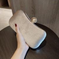 READY STOK JT00105-beige Clutch Bag Pesta Elegan Import Terbaru