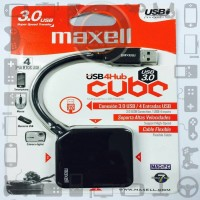 Port USB Hub Maxell Hi-speed 3.0