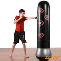 Inflatable Stress Punching Tower Bag Boxing Standing Water Base T