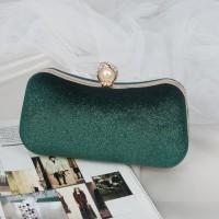 READY STOK JT00105-green Clutch Bag Pesta Elegan Import Terbaru
