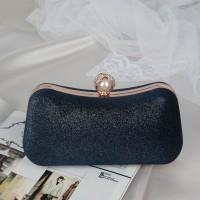 READY STOK JT00105-darkblue Clutch Bag Pesta Elegan Import Terbaru