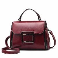 READY STOK JT1029-red Tas Handbag Wanita Cantik Import Terbaru