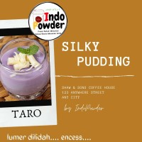 SILKY PUDDING TARO 1Kg - BUBUK Silky Puding 1Kg - Puding Sutra 1Kg