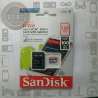 Memory Sandisk 128 GB Speed 100 mb/s