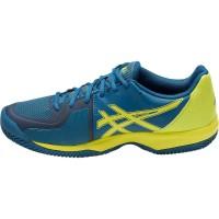 Sepatu Tennis Tenis Asics Gel Court Speed Blue Yellow Original