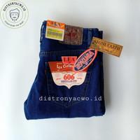 OBRAL LEA Biru Tua 28 - 32 Celana Panjang Jeans Pria 606 Standard