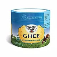 ORGANIC VALLEY GHEE CLARIFIED BUTTER 212 GRAM LIMITED STOCK