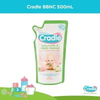 Cradle Baby Bottle and Nipple Cleanser refill 500ml