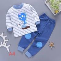 Piyama Anak / Motif Kartun / Baju / pakaian set / import