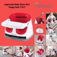 Kursi Makan Bayi Ingenuity Baby Base 2in1 Poppy Red 11577