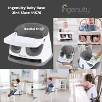 Kursi Makan Bayi Ingenuity Baby Base 2in1 Slate 11576