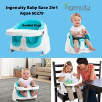 Kursi Makan Bayi Ingenuity Baby Base 2in1 Aqua 60279
