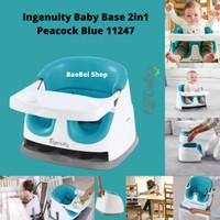 Kursi Makan Bayi Ingenuity Baby Base 2in1 Peacock Blue 11247