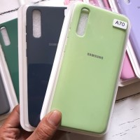 Samsung A70 Silicone Rubber Oem Soft TPU Cover Case